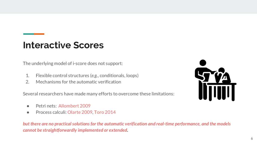 Interactive Scores 6 The underlying model of i-...