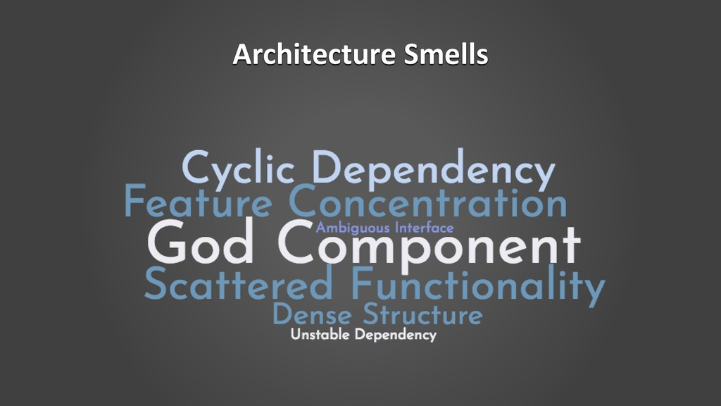 Architecture Smells