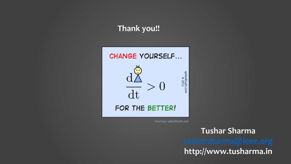 Tushar Sharma tusharsharma@ieee.org http://www....
