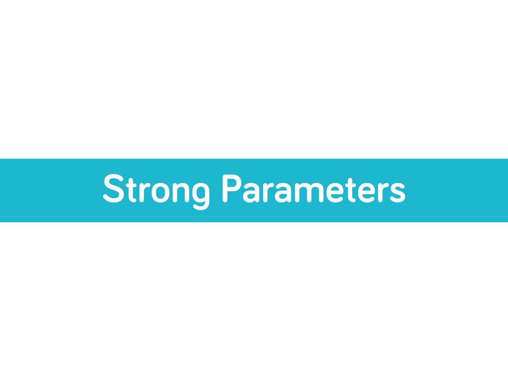 Stron Parameters