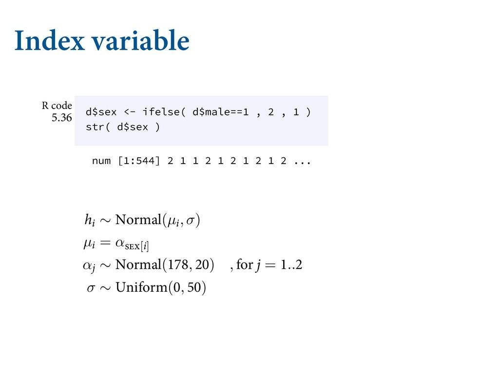 Index variable TJNQMF UIFTF QSJPST XJMM XBTI P...