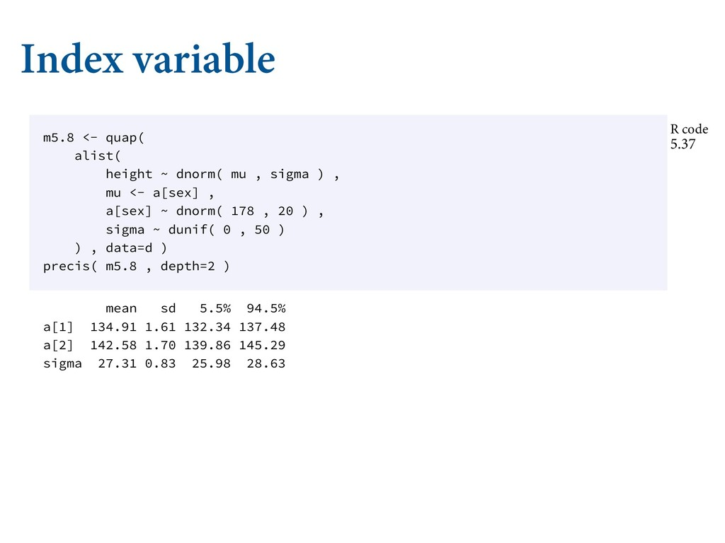 """Index variable  $""""5&(03*$""""- 7""""3*""""#-&4  3..."""