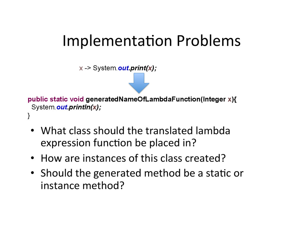 ImplementaAon	