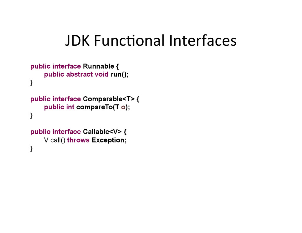 JDK	