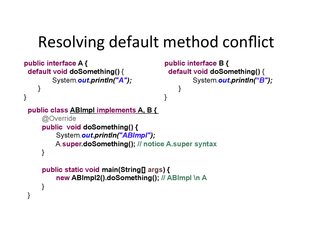 Resolving	