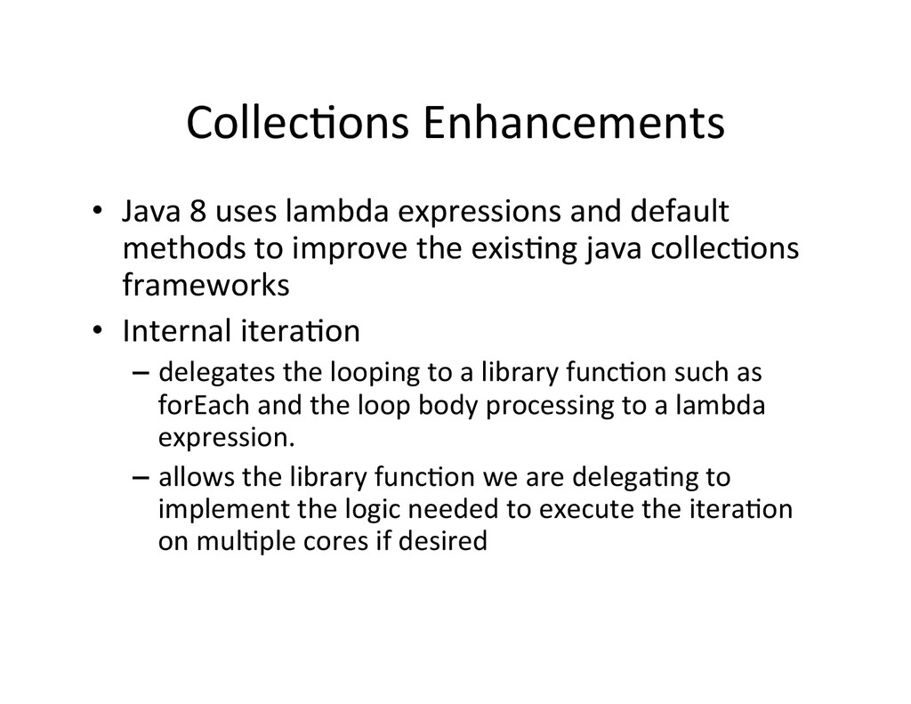 CollecAons	