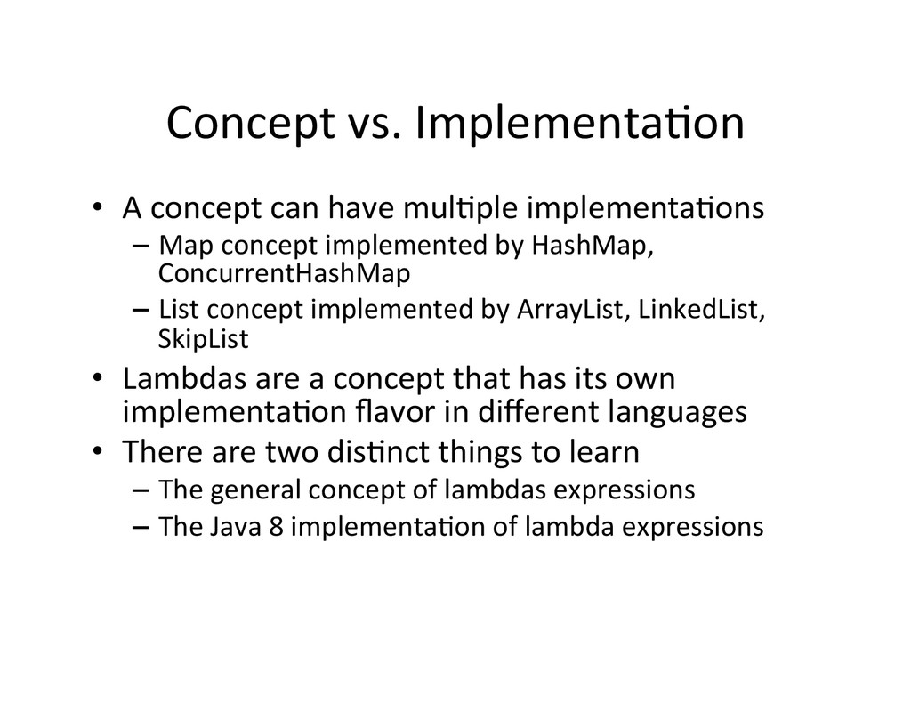Concept	
