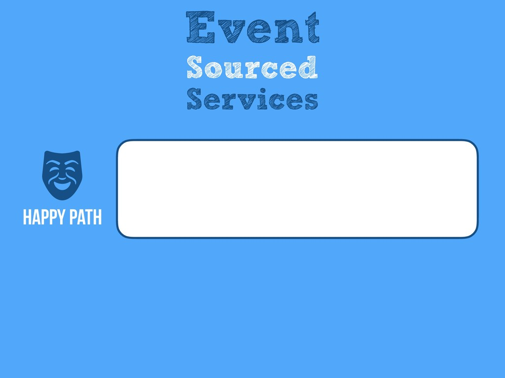 Happy Path Event Sourced Services