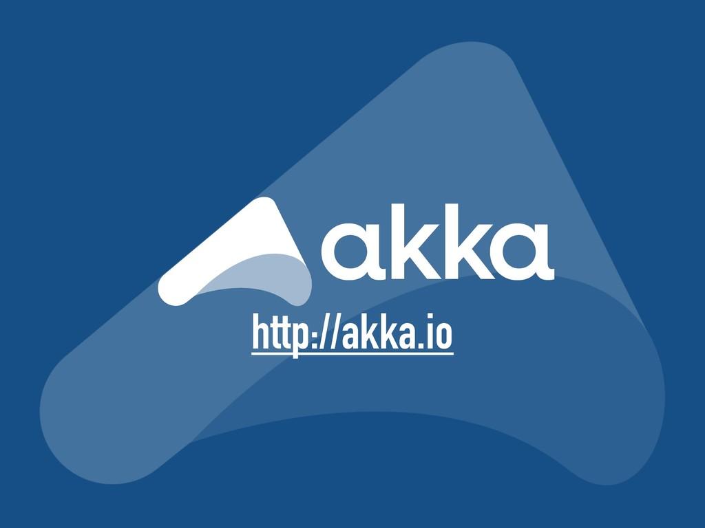 http://akka.io