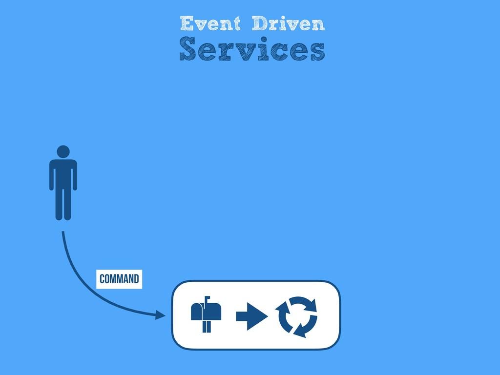Event Driven Services Command