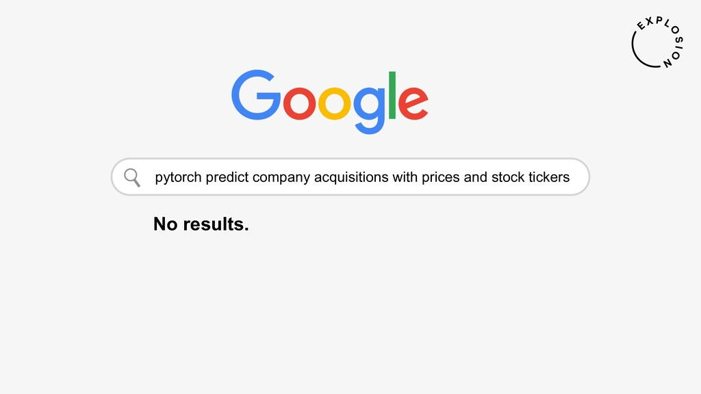 pytorch predict company acquisitions with price...