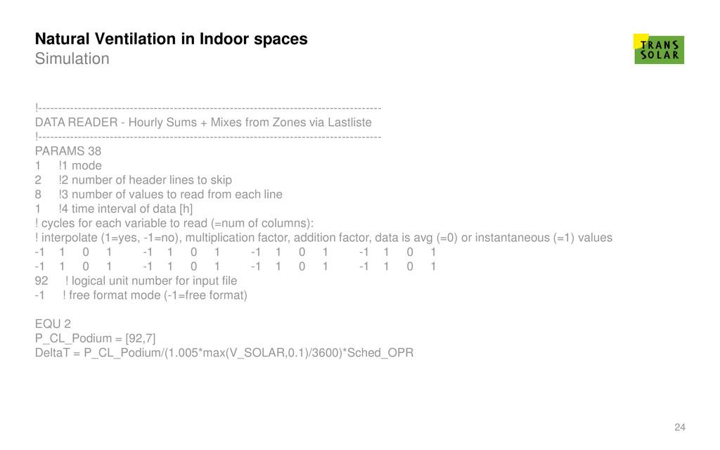 24 Natural Ventilation in Indoor spaces Simulat...