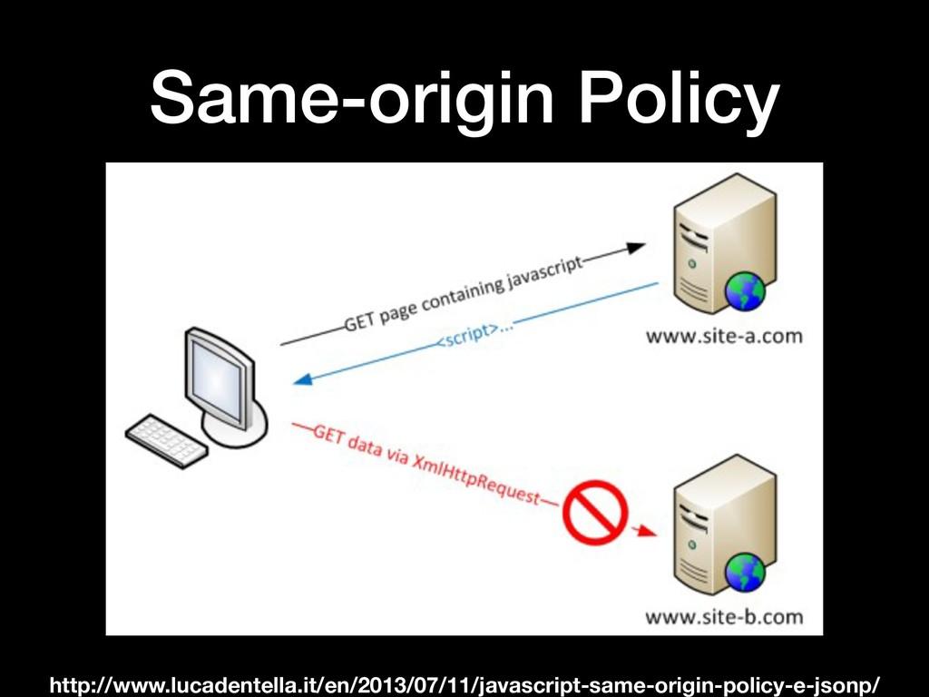 Same-origin Policy http://www.lucadentella.it/e...