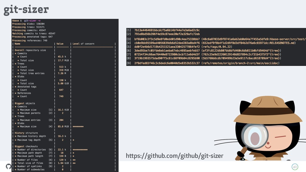 How people build software ! 40 git-sizer https:...