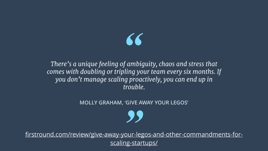 """ "" MOLLY GRAHAM, 'GIVE AWAY YOUR LEGOS' There'..."