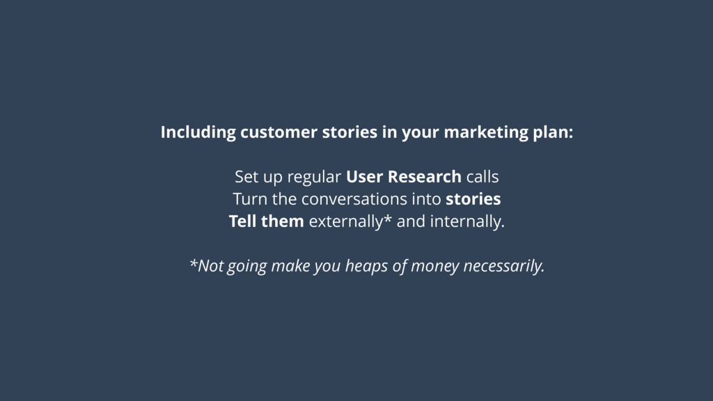 Including customer stories in your marketing pl...