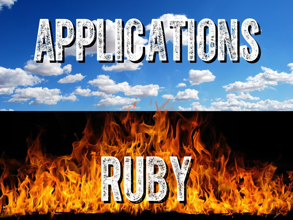 ruby ruby applications applications