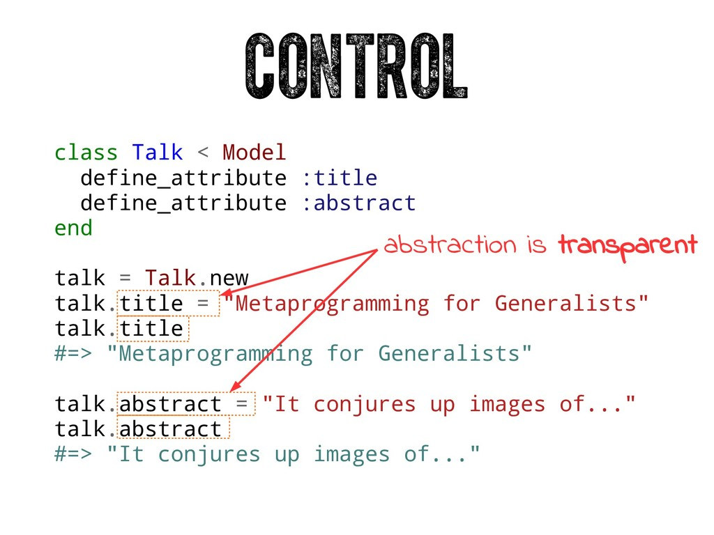 class Talk < Model define_attribute :title defi...