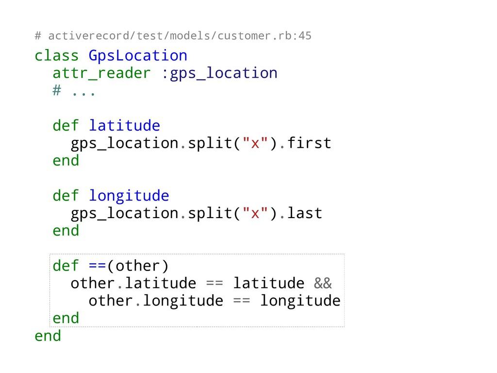 class GpsLocation attr_reader :gps_location # ....
