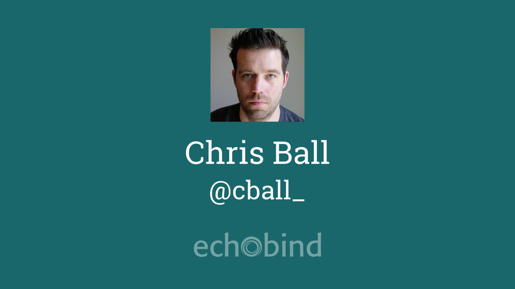 Chris Ball @cball_