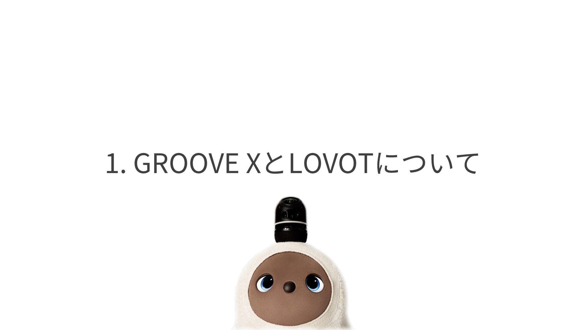 1. GROOVE XとLOVOTについて