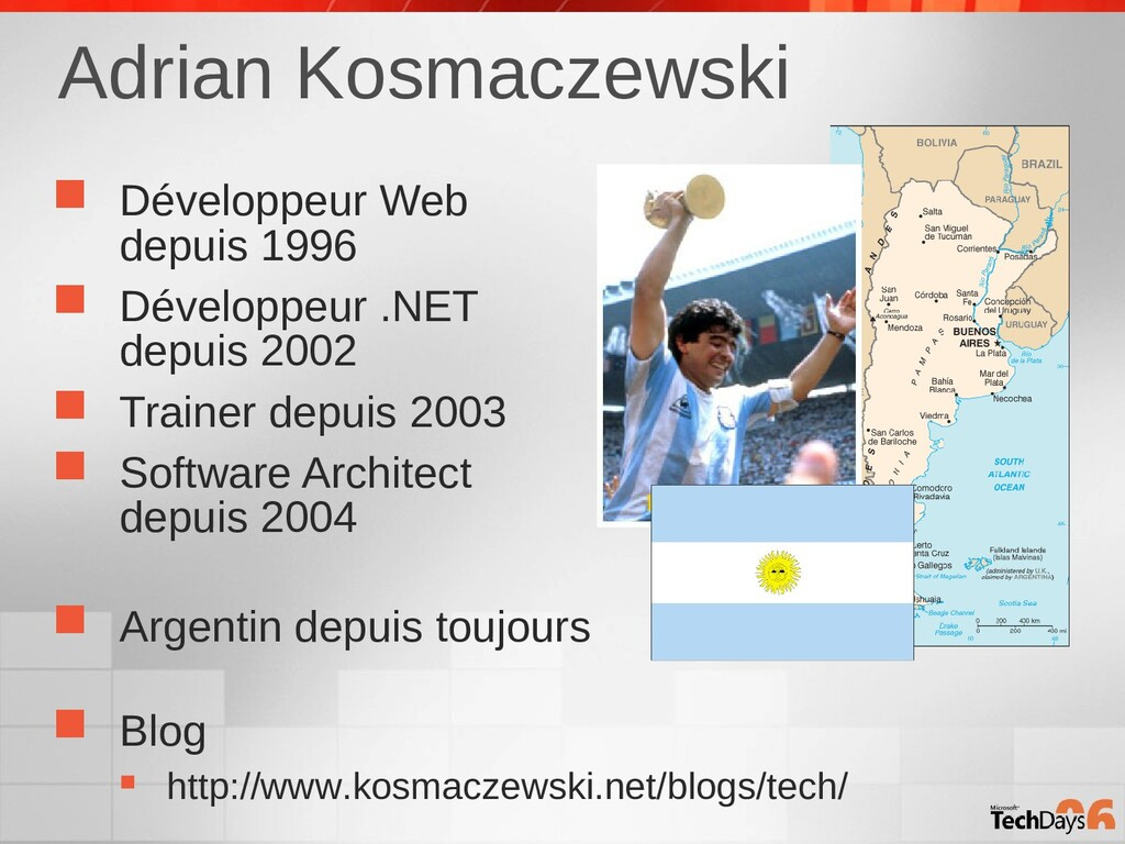 Adrian Kosmaczewski  Développeur Web depuis 19...