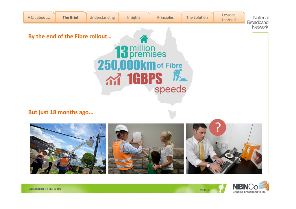 UNCLASSIFIED | © NBN Co 2013 Page 3 By the...