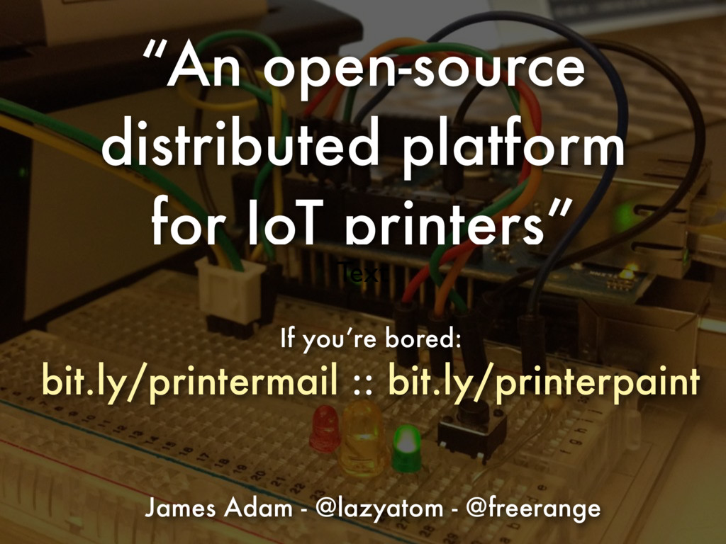 """An open-source distributed platform for IoT pr..."