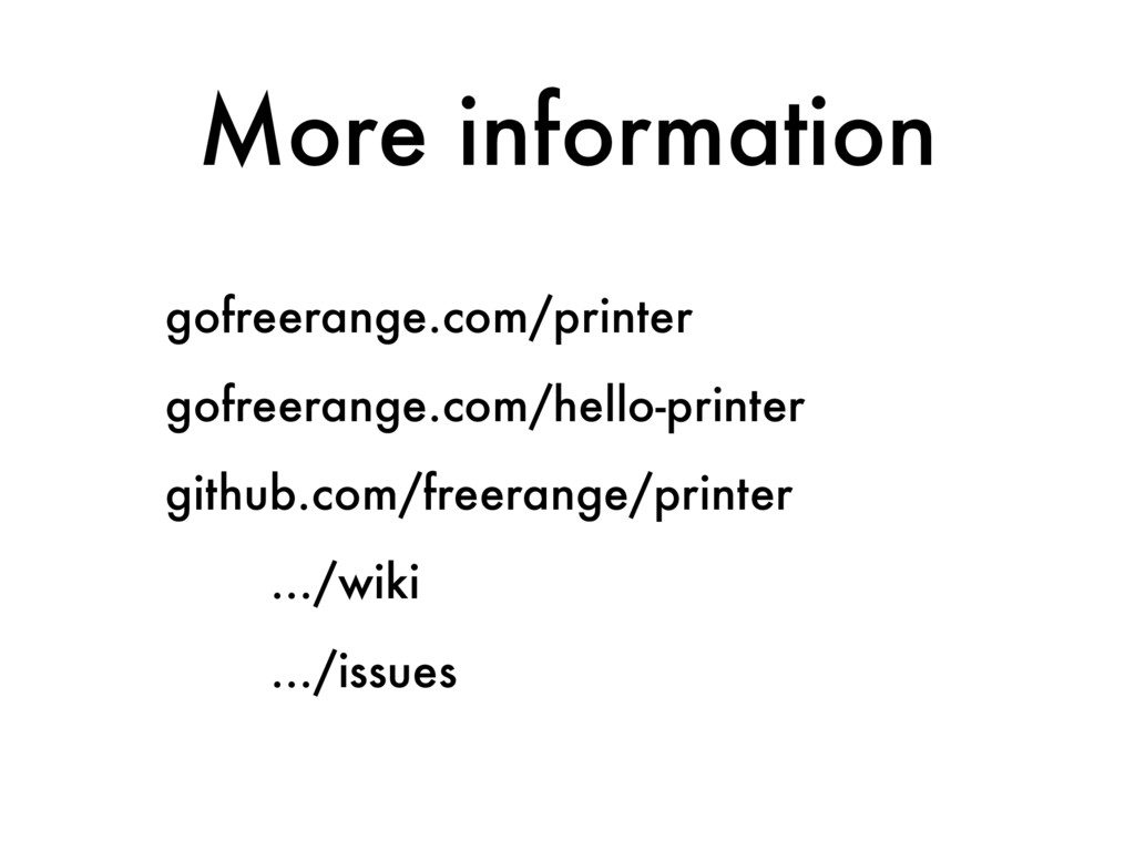 More information gofreerange.com/printer gofree...