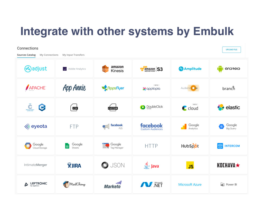 Integrate with other systems by Embulk