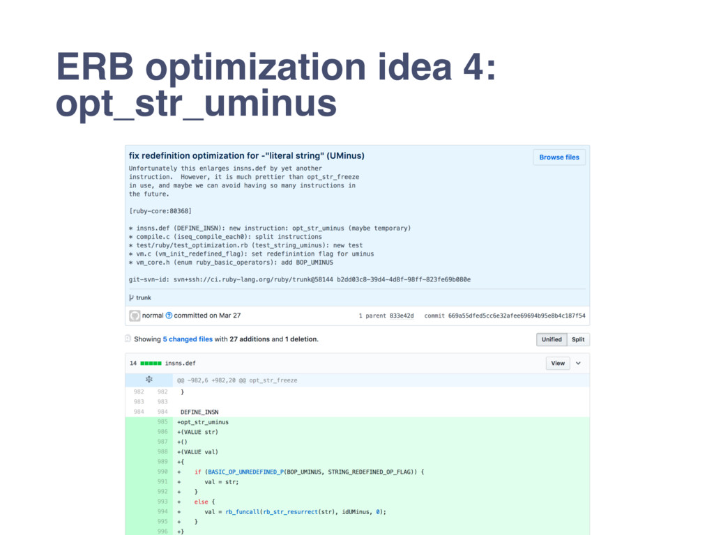 ERB optimization idea 4: opt_str_uminus