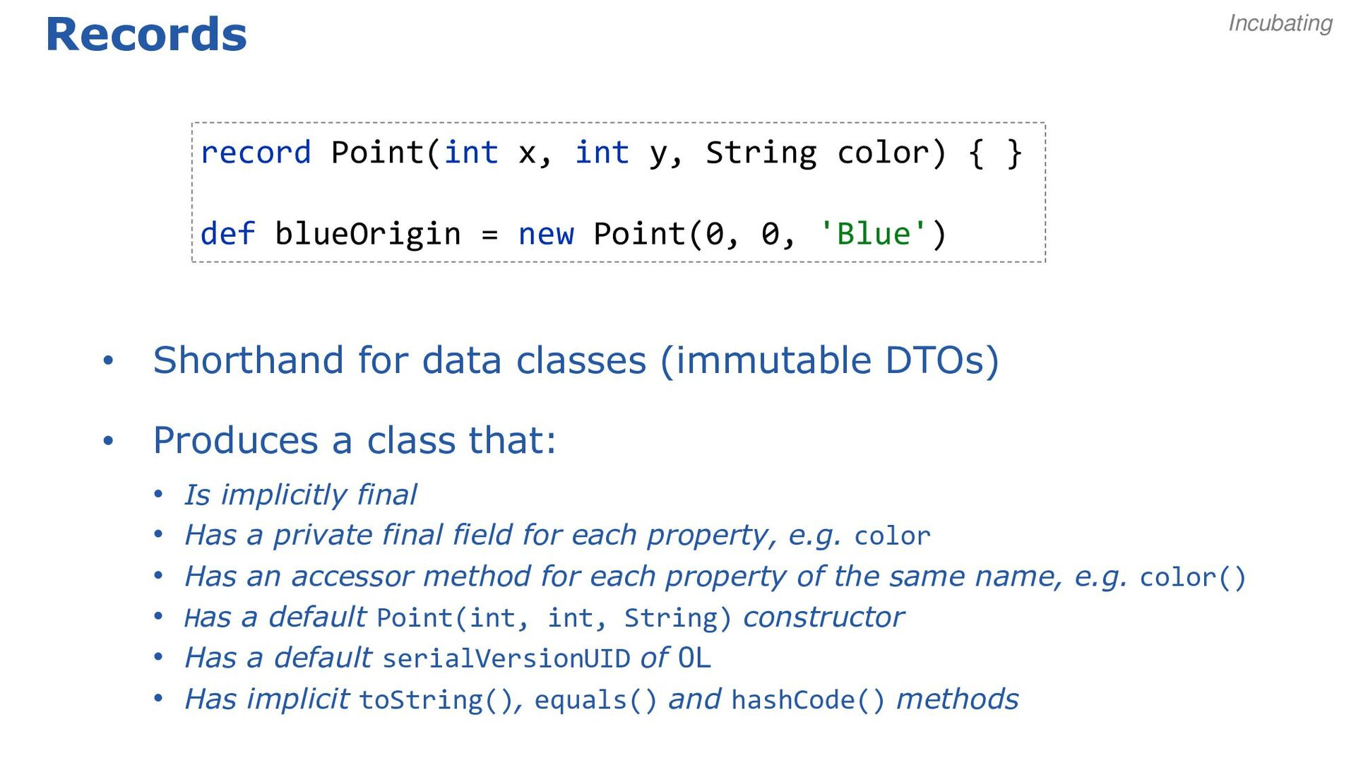 More method ref examples: constructors // norma...