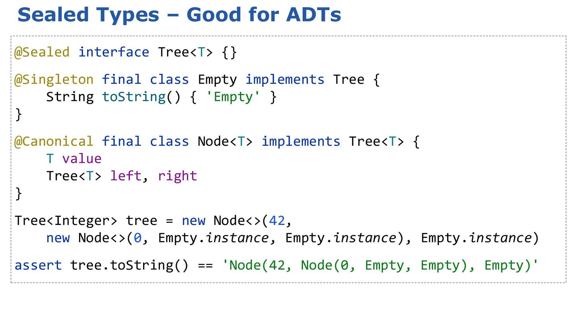 3.0: New operators: negated variants assert 45 ...
