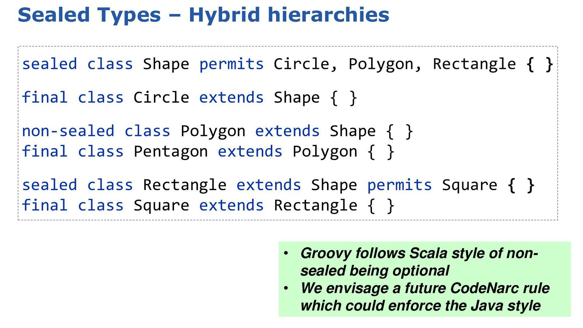 3.0: GroovyDoc comments as metadata import org....