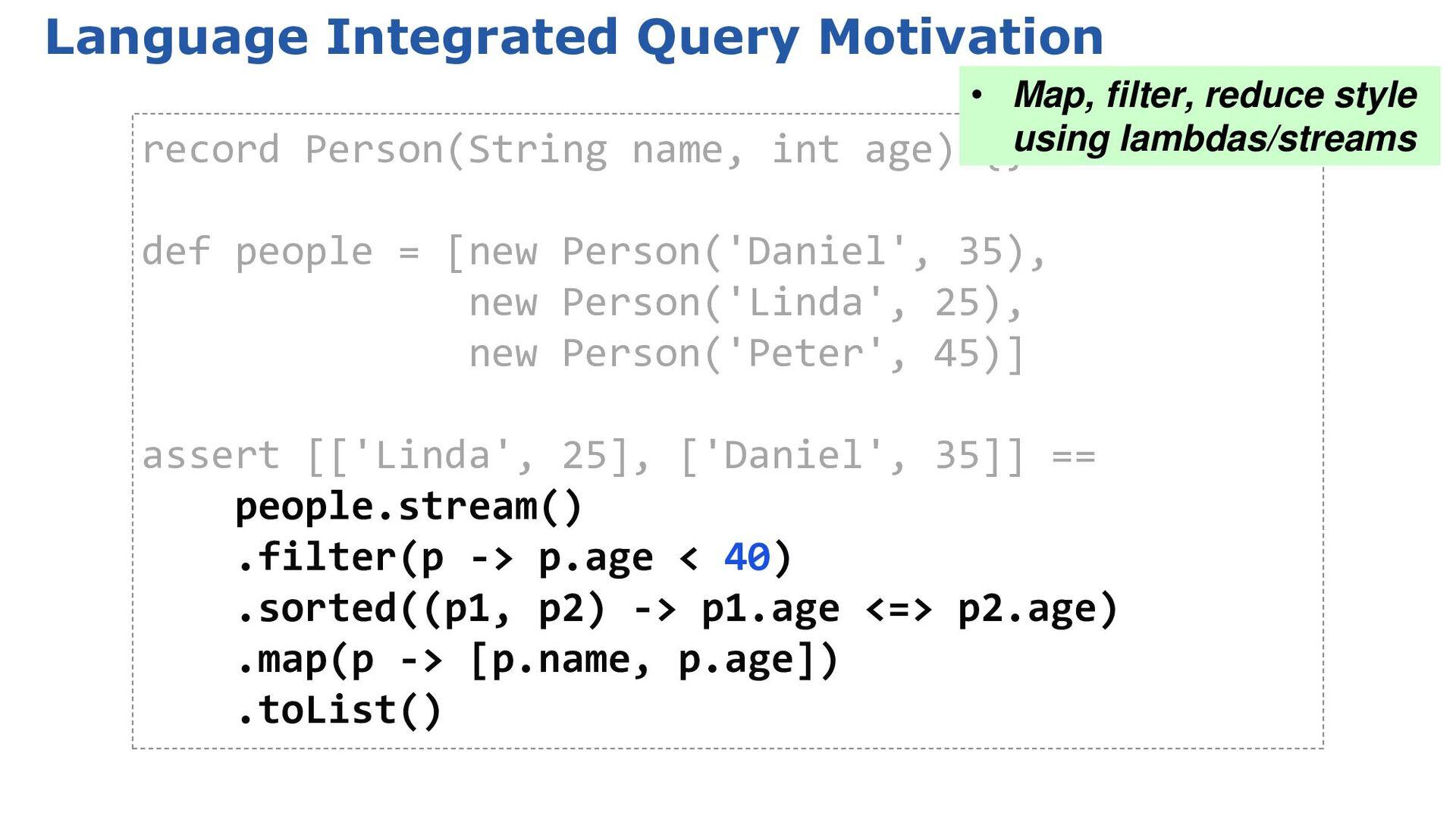 2.4: GDK Enhancements: Object[] Object min() Ob...