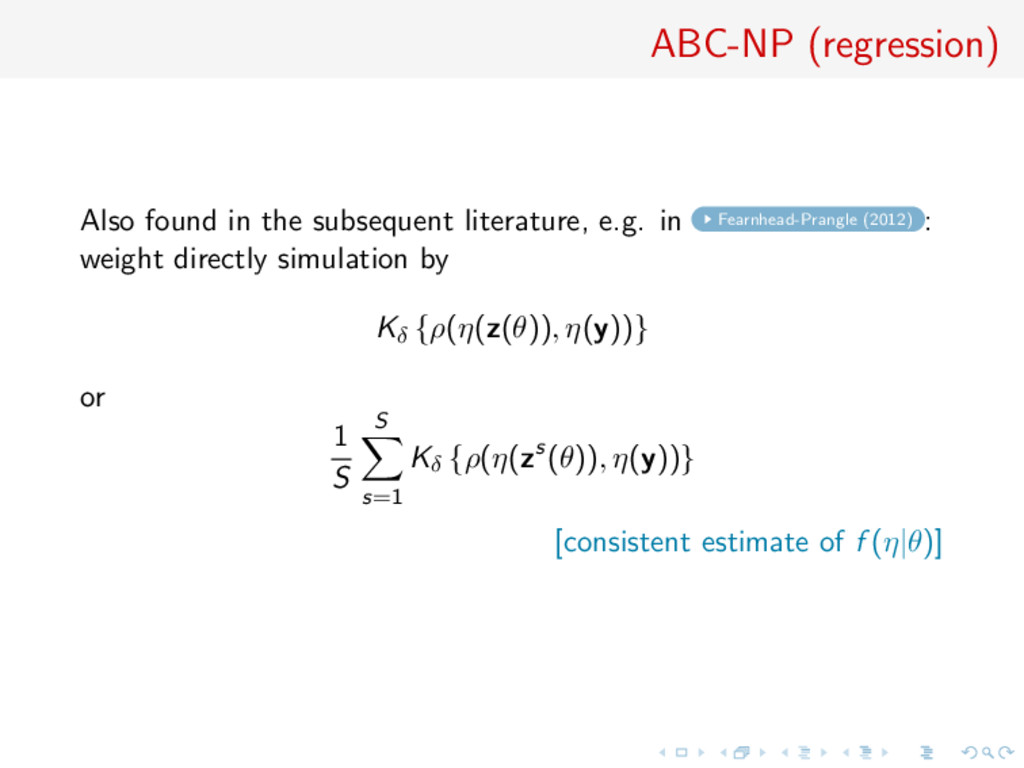 ABC-NP (regression) Also found in the subsequen...