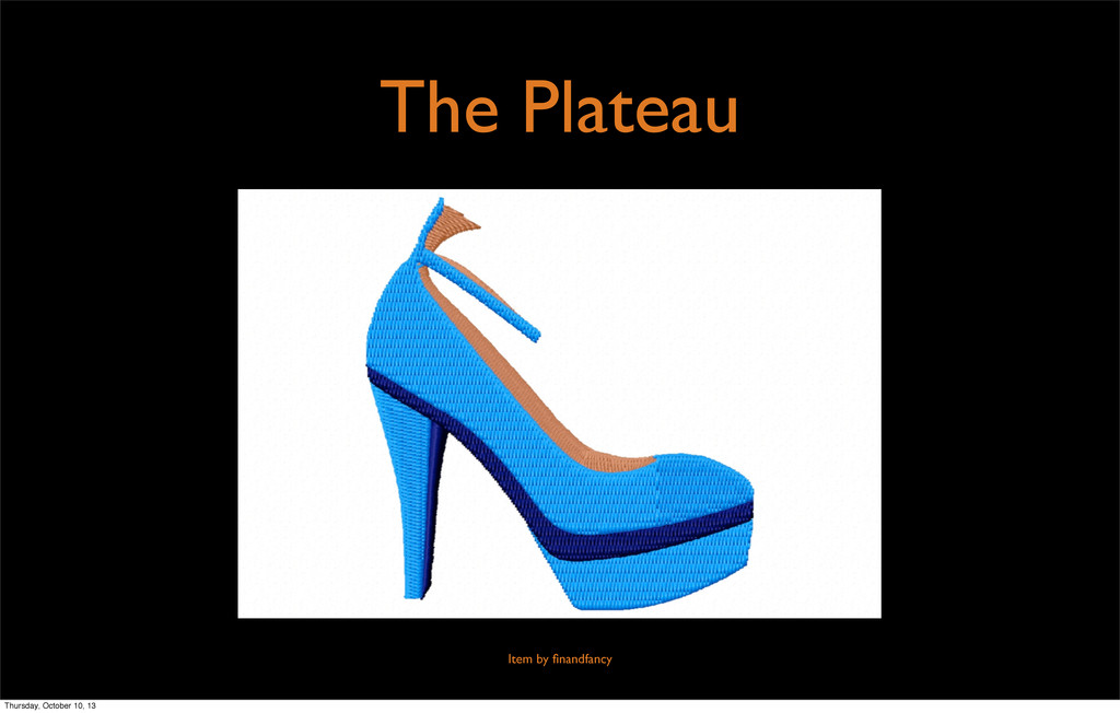 The Plateau Item by finandfancy Thursday, Octobe...