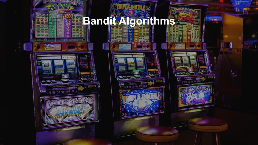 Bandit Algorithms