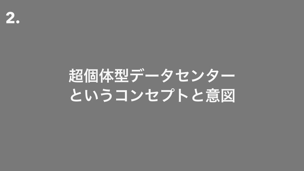 2. ݸମܕσʔληϯλʔ ͱ͍͏ίϯηϓτͱҙਤ
