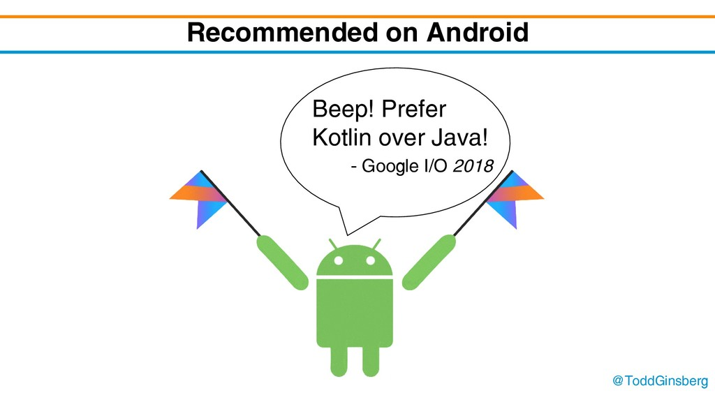 @ToddGinsberg Recommended on Android Beep! Pref...