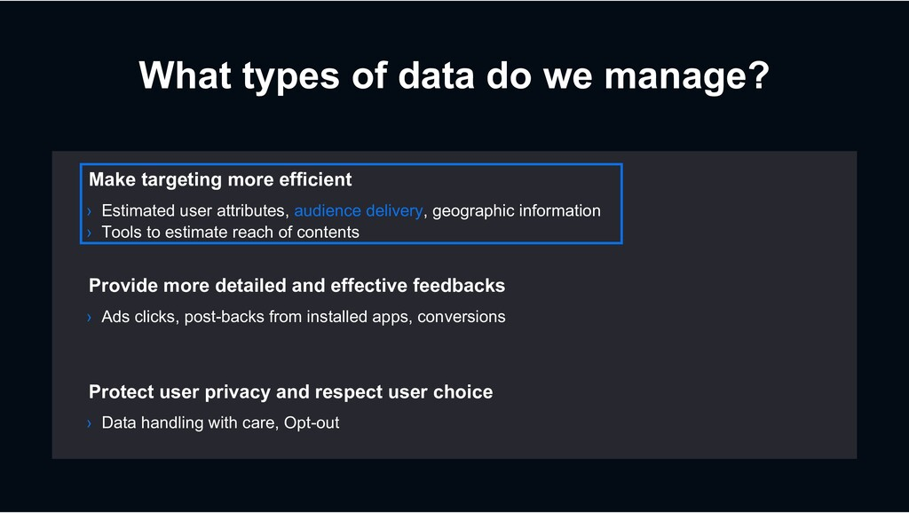 What types of data do we manage? › Ads clicks, ...