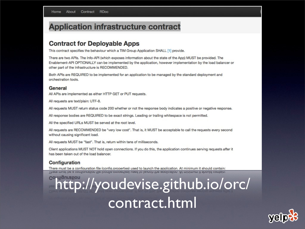 http://youdevise.github.io/orc/ contract.html