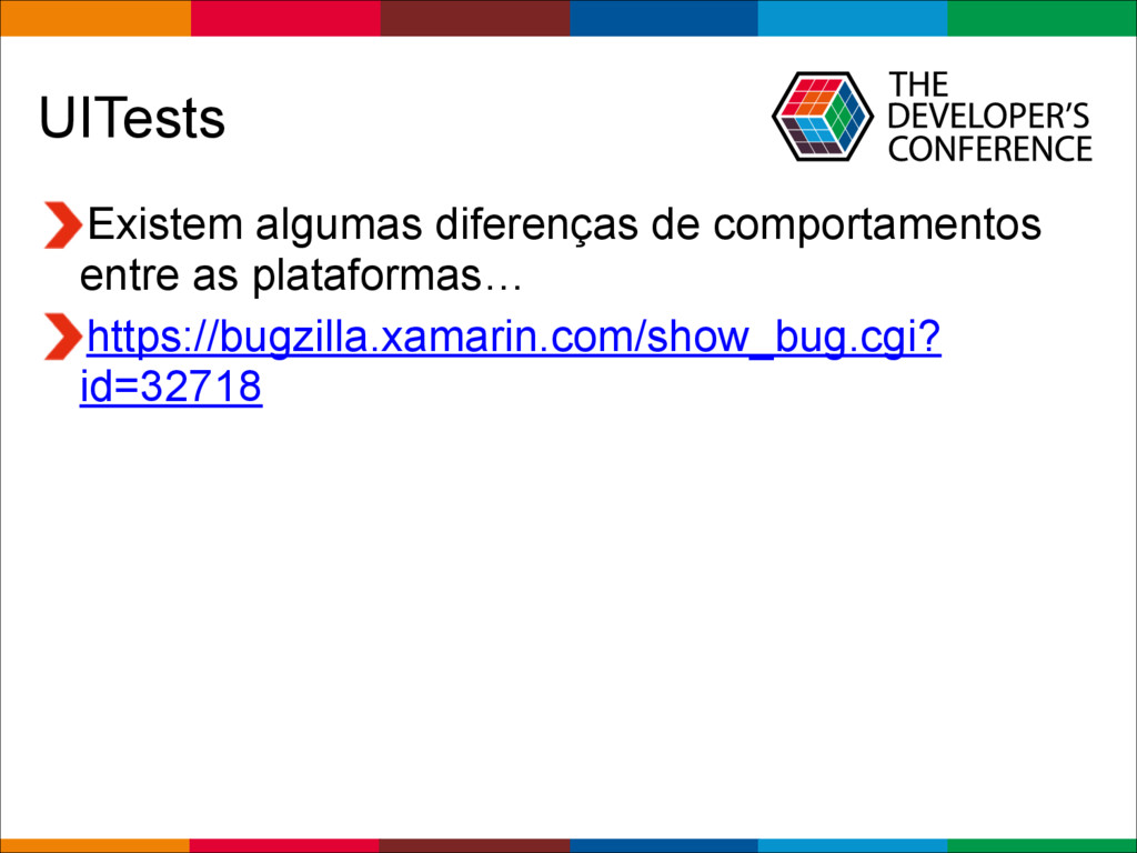 Globalcode – Open4education UITests Existem alg...