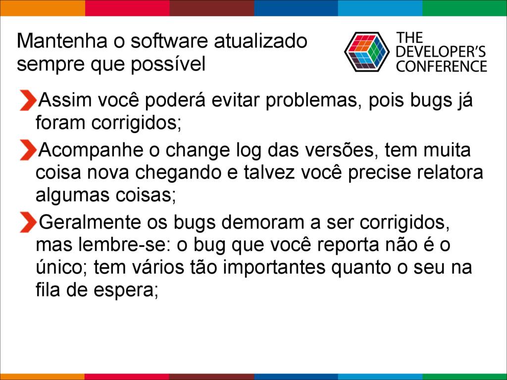 Globalcode – Open4education Mantenha o software...