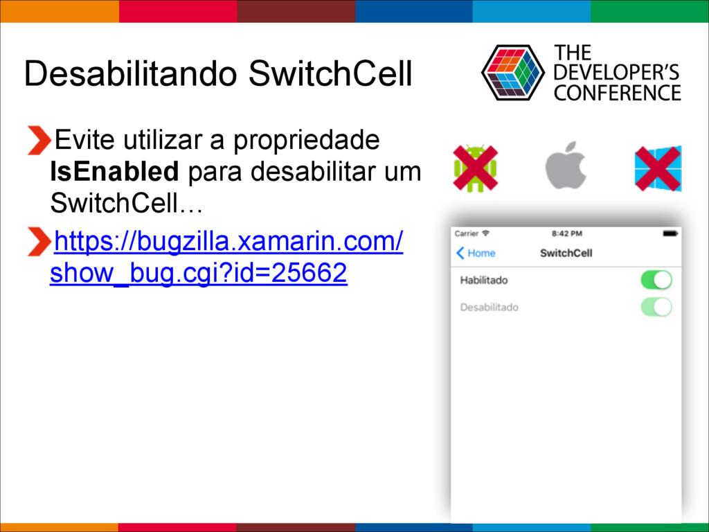 Globalcode – Open4education Desabilitando Switc...