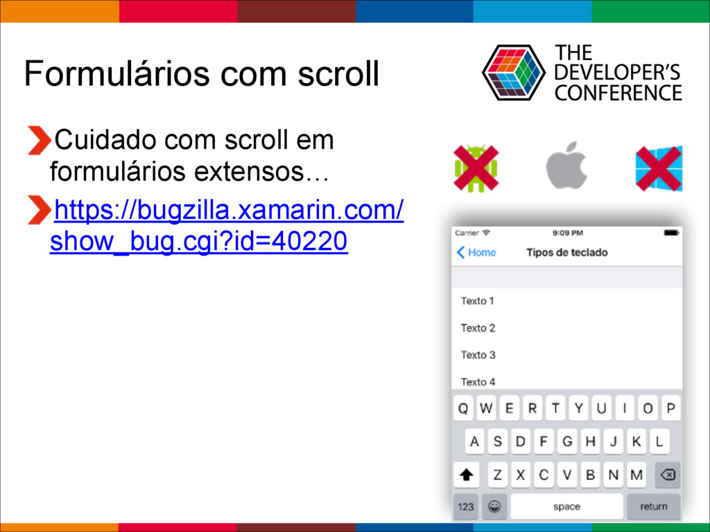 Globalcode – Open4education Formulários com scr...