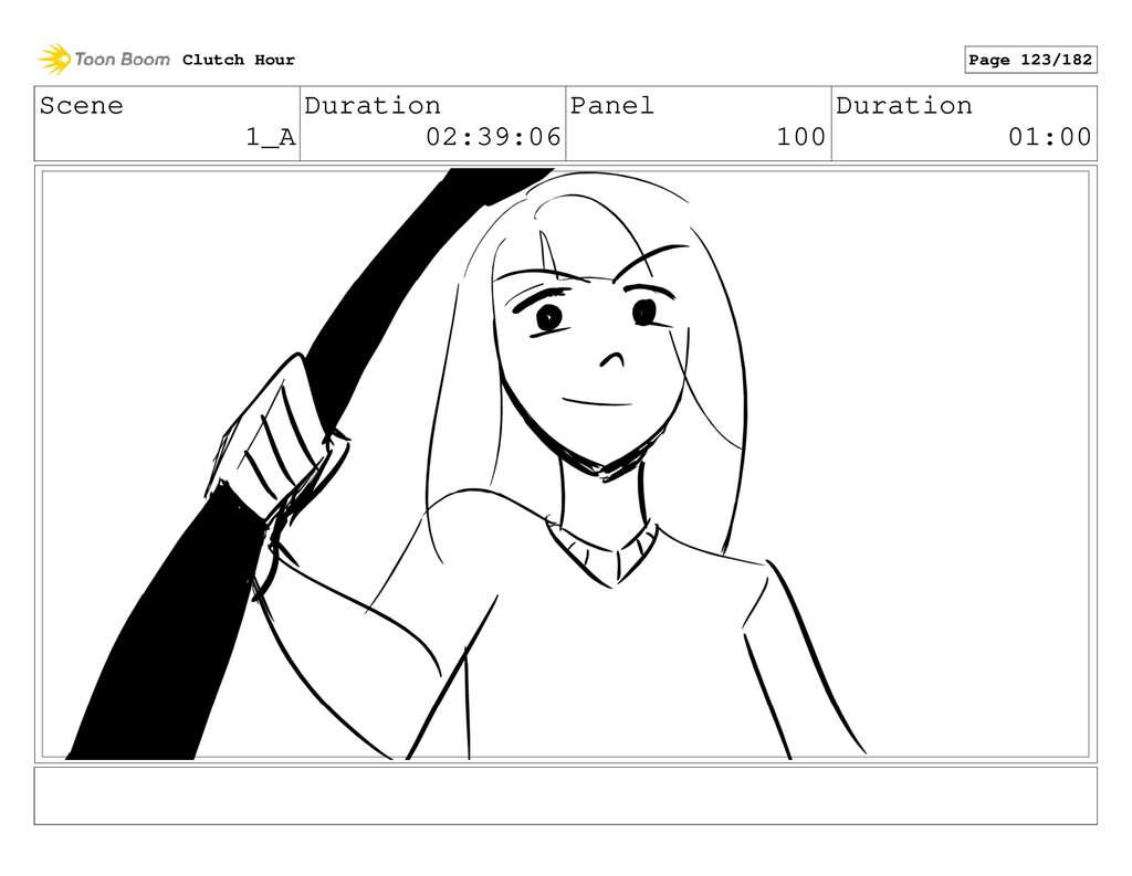 Scene 1_A Duration 02:39:06 Panel 100 Duration ...