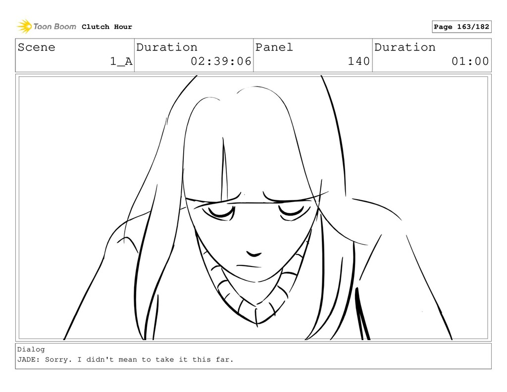Scene 1_A Duration 02:39:06 Panel 140 Duration ...