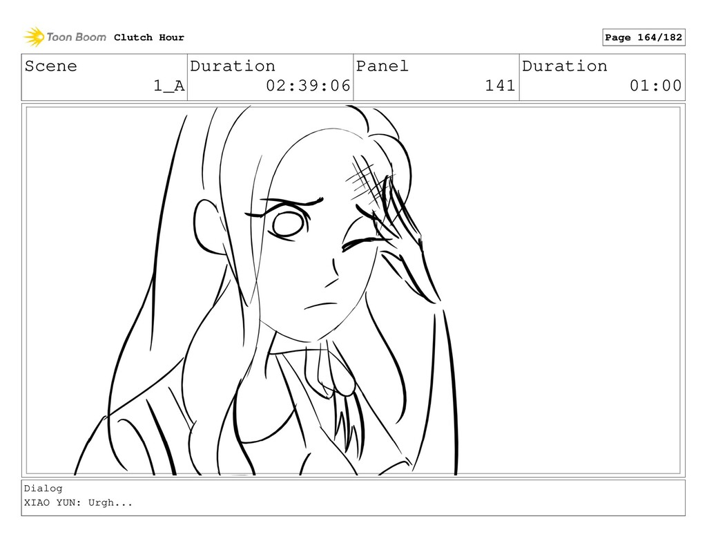 Scene 1_A Duration 02:39:06 Panel 141 Duration ...