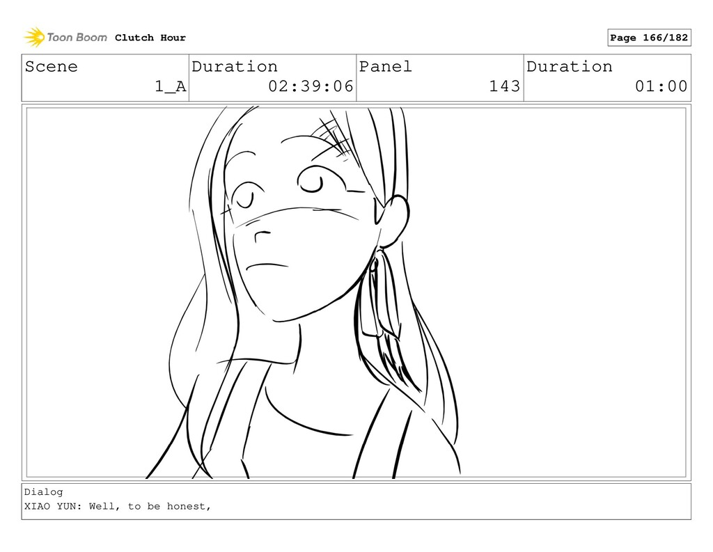 Scene 1_A Duration 02:39:06 Panel 143 Duration ...